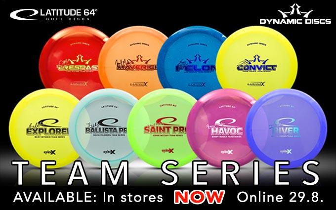 Latitude 64 & Dynamic Discs Team Series