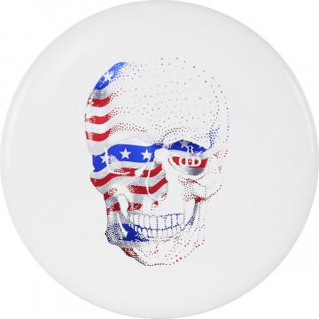 Dynamic Discs Classic Blend Judge Happy Skull Stamp