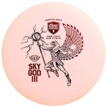 Discmania C-Line Color Glow P2 Sky God III - Lizotte Signature
