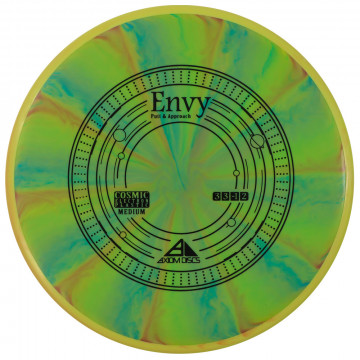 Axiom Discs Cosmic Electron Medium Envy