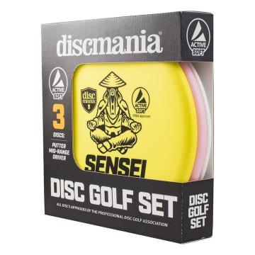 Discmania Kiekkosetti Active Soft