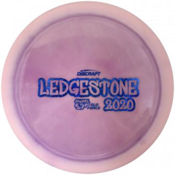 Discraft ESP Glo Swirl Force 2020 Ledgestone Edition