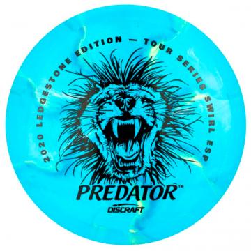 Discraft ESP Swirl Predator 2020 Ledgestone Edition Tour Series