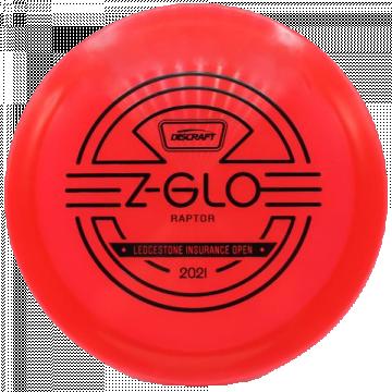Discraft Z Glo Raptor 2021 Ledgestone Edition