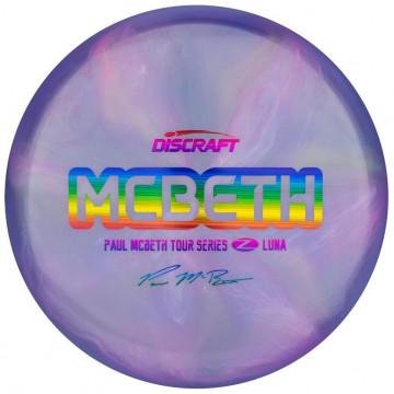 Discraft Z Line Luna 2020 Paul McBeth Tour Series