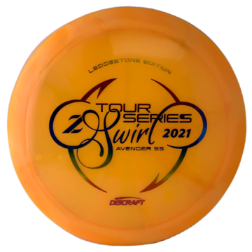 Discraft Z Swirl Tour Series Avenger SS 2021 Ledgestone Edition