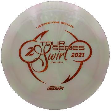 Discraft Z Swirl Tour Series Crush 2021 Ledgestone Edition