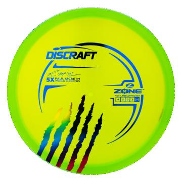 Discraft Z Line Zone Paul McBeth 5x Limited Edition