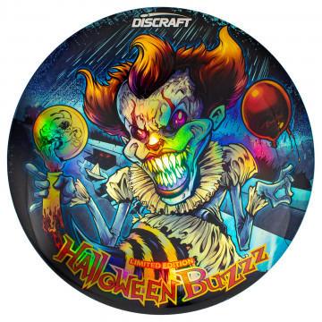Discraft Full Foil Supercolor Buzzz GLO - Halloween - Pennywise