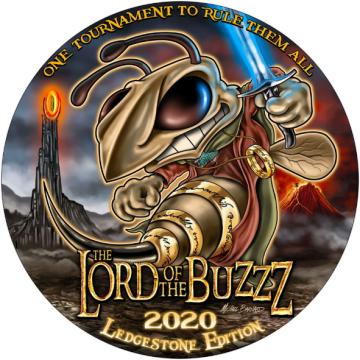 Discraft Full Foil Supercolor Buzzz Lord of the Buzzz Plain Prism - Ledgestone 2020