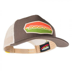 Innova Lippalakki Trucker - Striped Bar Logo