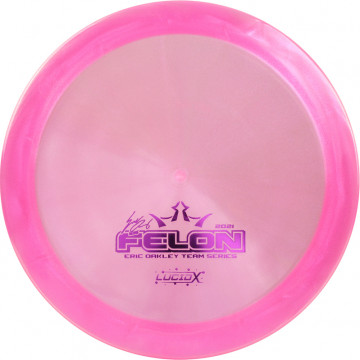 Dynamic Discs Lucid-X Glimmer Felon Eric Oakley (Team Series 2021) Volume 1