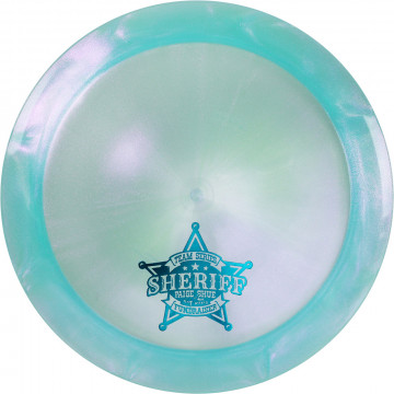 Dynamic Discs Lucid-X Glimmer Sheriff Paige Shue (Team Series 2020) Volume 2