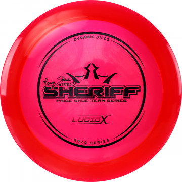 Dynamic Discs Lucid-X Sheriff Paige Shue (Team Series 2020)