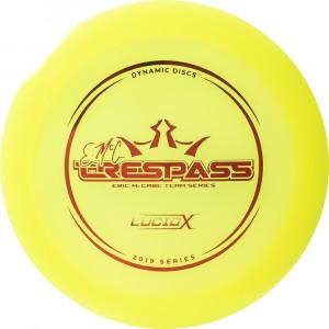 Dynamic Discs Lucid-X Trespass Eric McCabe (Team Series 2019)