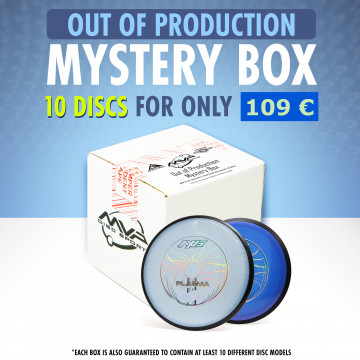 MVP Disc Sports Mystery Box Out Of Prodution - 10 discs