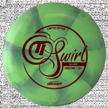 Discraft Titanium Swirl Tour Series Glide 2021 Ledgestone Edition