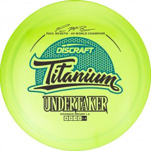 Discraft Titanium Undertaker Paul McBeth