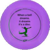 Wham-O UMAX Frisbee Disc Dreams