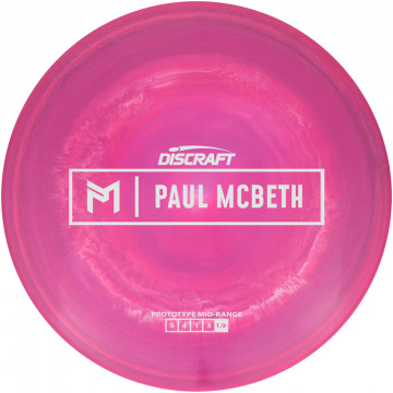 Discraft ESP Swirl Mid-Range Proto - Paul McBeth LE