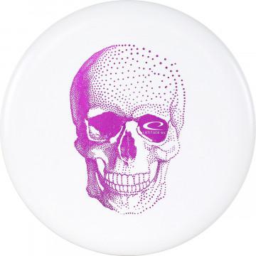 Latitude 64 Zero Medium Pure Happy Skull Stamp